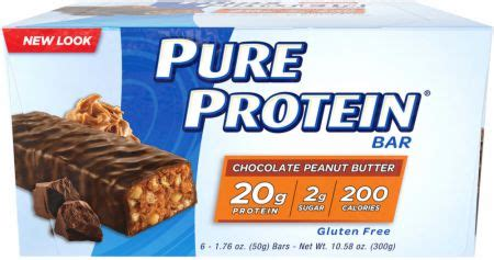 top 10 healthiest protein bars pure protein bars by pure protein at bodybuilding com best prices for pure protein bars