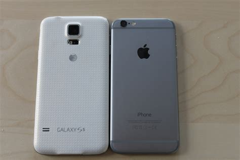k iphone how the iphone 6 compares to its android rival samsung s galaxy s5 business insider