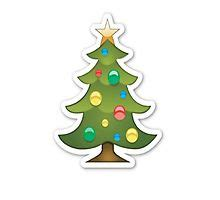 christmas tree emoji emoji photographic prints redbubble