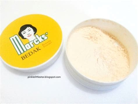 Bedak Marcks Bubuk Review Marcks Powder