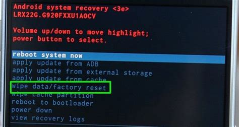reset android no command how to fix android quot no command quot error a definitive guide