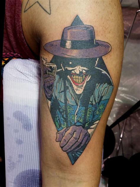 tattoo jokes the killing joke joker dc comics by steve rieck