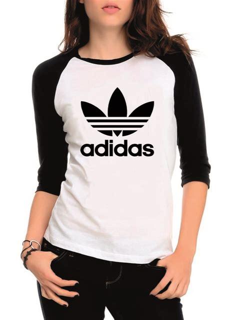 Raglan Adidas 3 camiseta raglan 3 4 adidas feminina top no elo7 uc
