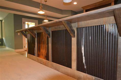 Pro Kitchen Cabinets by Custom Residence In Westfield 206 Rustic Basement