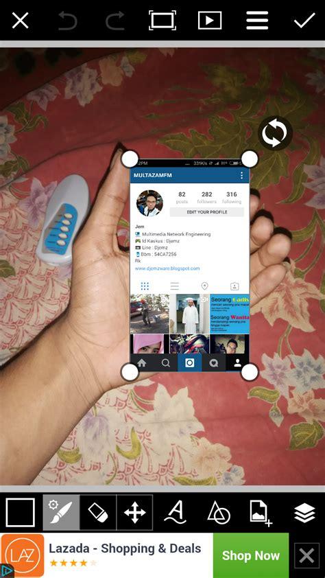 cara membuat instagram mind hand zahrainbow cara membuat instagram in my hand with