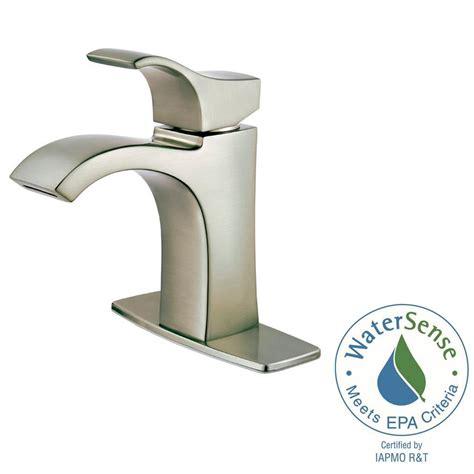 pfister bathroom sink faucets pfister venturi 4 in centerset single handle bathroom