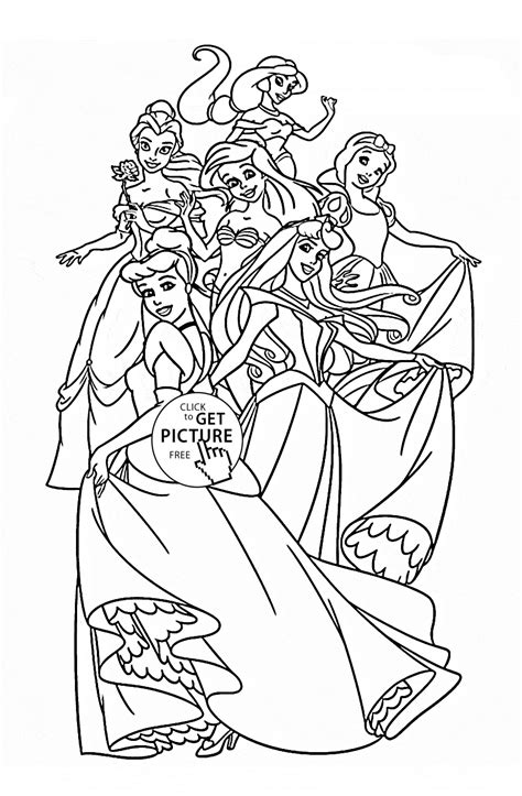 Free Disney Coloring Pages For