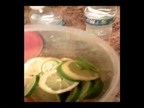 Detox Water Lime Orange by Lemon Lime Orange Detox Water