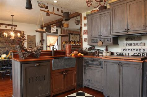 primitive kitchen ideas primitive country kitchen country primitive kitchens cabinets look at and