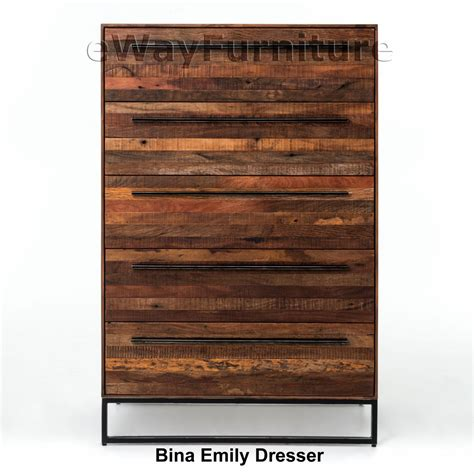 Emily Dresser by Bina Emily Dresser New Bedroom Furniture With Rustic