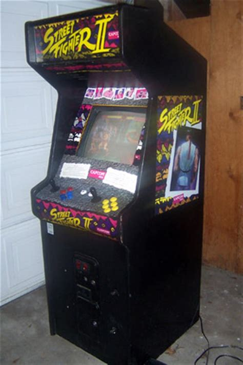Fighter Ii Arcade Cabinet by Fighter Ii The World Warrior Arcade