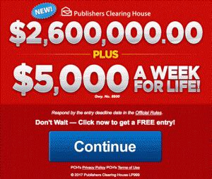Pch Win 5000 Every Week For Life - pch 2 600 000 00 plus 5 000 a week for life sweepstakes