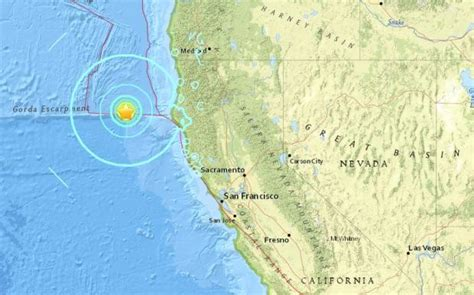 usgs earthquake map california usgs 6 5 magnitude quake in california coast inquirer news
