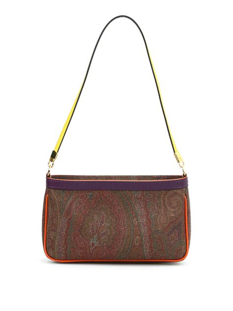 Print Shoulder Bag paisley print small shoulder bag by etro shoulder bags