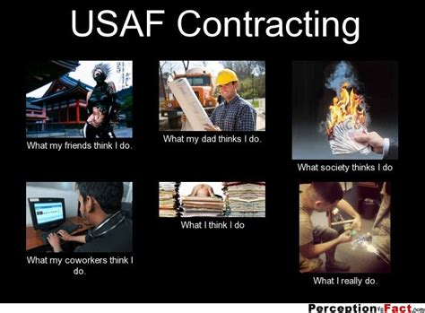 What I Do Meme - usaf contracting what people think i do what i