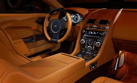 aston martin custom interior car and driver