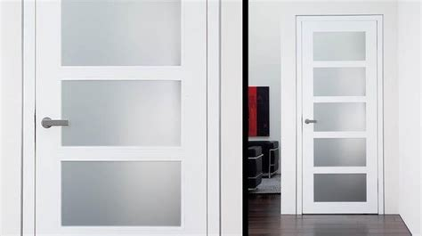 White Interior Glass Doors Modern Interior Doors