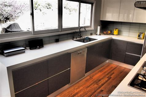 contemporary countertops modern white kitchen cabinets with black countertops