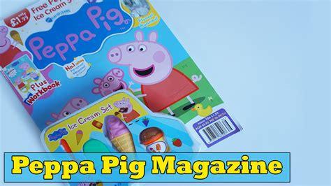 Magazine Set peppa pig magazine set brain freeze