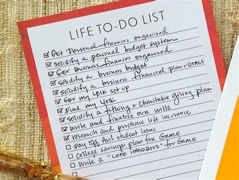 life themes list my life to do list lara casey