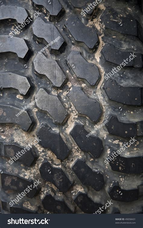 tread pattern en français heavy vehicle tire tread pattern stock photo 49058431