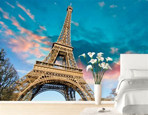 Wall Murals Eiffel Tower Eiffel Tower Wall Mural Your Decal Shop Nz Designer
