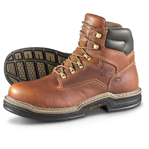 wolverine s 6 quot steel toe work boots 618741