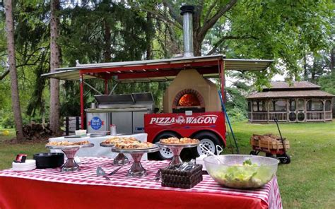 pizza wagen the pizza wagon food truck for graduation in pa