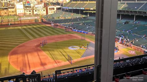 section 509 a 3 wrigley field section 509 chicago cubs rateyourseats com