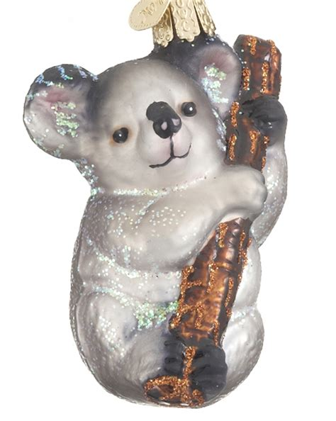 koala bear christmas ornament country