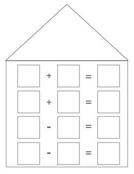 fact family house math fact family house fact families fun games and facts