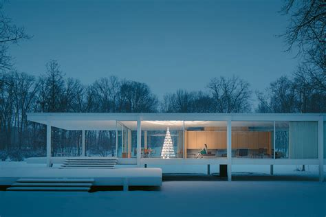 Farnsworth House by Farnsworth House Modern Trees