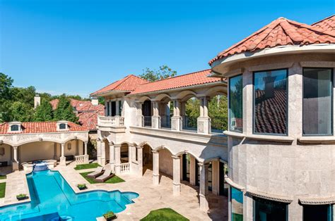 10000 sq ft house 5 95 million 10 000 square foot mediterranean mansion in