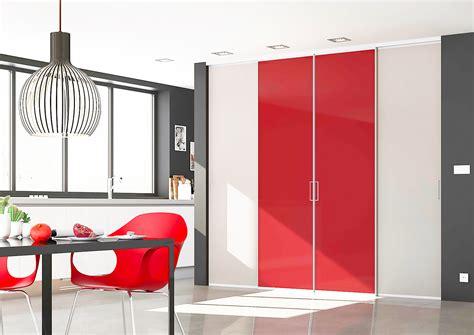 Exceptionnel Portes De Placard Cuisine #7: Cuisine-porte-placard-cappucino-vermillon-brillant-4-vantaux.jpg
