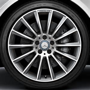 amg 19 inch alloy wheel set multi spoke wheel aluminum