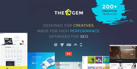 themeforest gem thegem creative multi purpose high performance wordpress