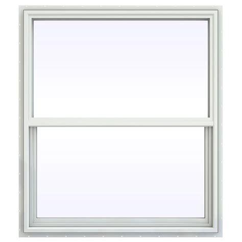 jeld wen 18 in x 83 5 in woodgrain 6 panel unfinished jeld wen 41 5 in x 41 5 in v 4500 series single hung