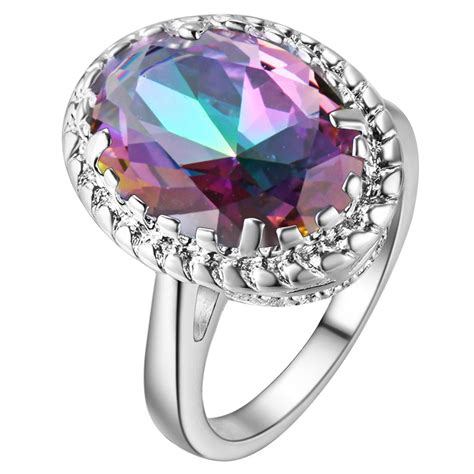 best of wedding ring sets with colored stones design