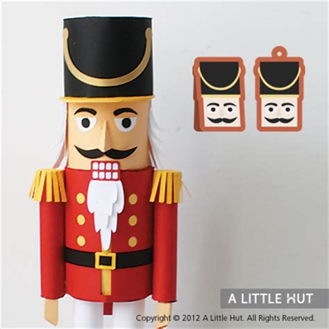 How To Make A 3d Doll Out Of Paper - nutcracker gift set