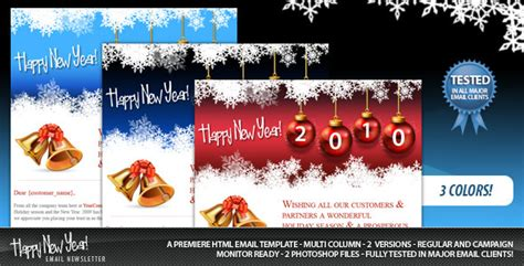 20 Best New Year Newsletter Templates 2014 Designmaz Happy New Year Email Template