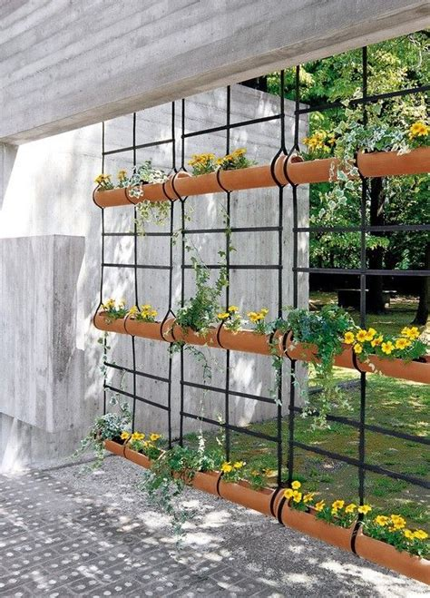 outdoor wall hanging planters hanging planter room divider hanging wall planters