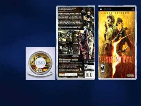 theme psp resident evil resident evil 5 golden edition for psp youtube