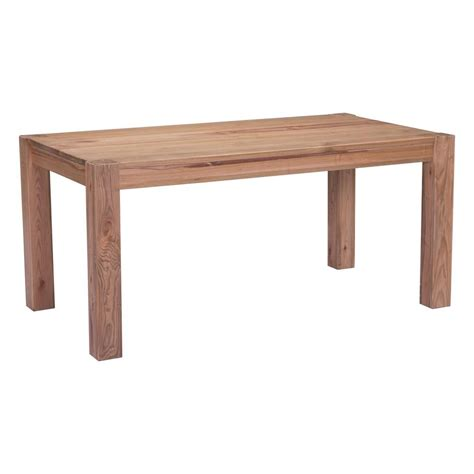 Zuo Dining Table Zuo Elm Dining Table 100439 The Home Depot