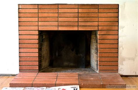 how to clean soot brick fireplace how to clean fireplace bricks simple practical beautiful