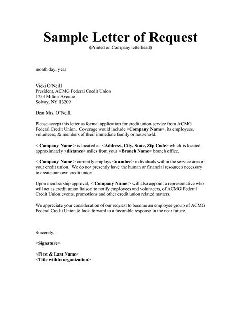 Request Letter Format C Form sle request letters writing professional letters