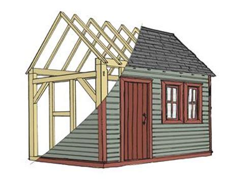 how to build a shed how to build a house