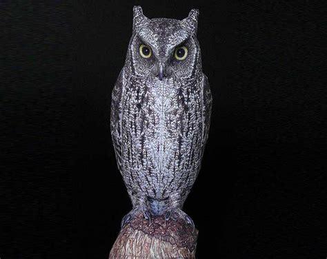 Realistic Papercraft - johan scherft creates amazingly realistic birds from paper