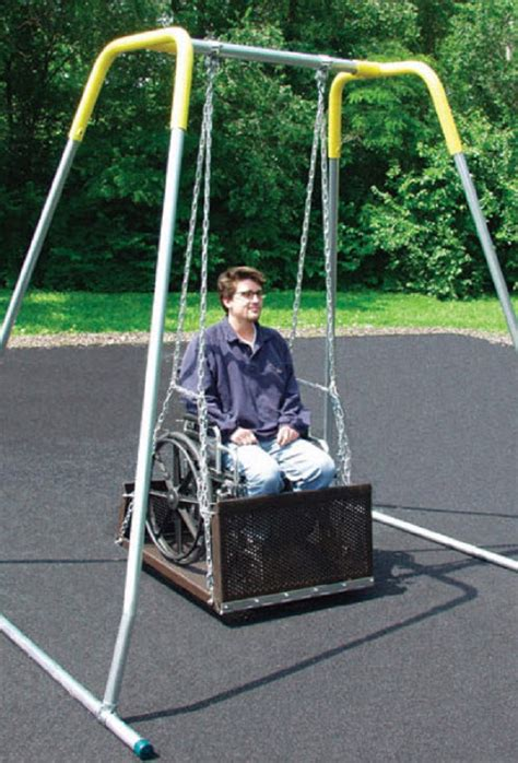swing for wheelchair users wheelchair swing platforms free shipping