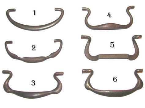 Drawer Pull Hardware Parts by Robinson S Antique Hardware Iron Bails