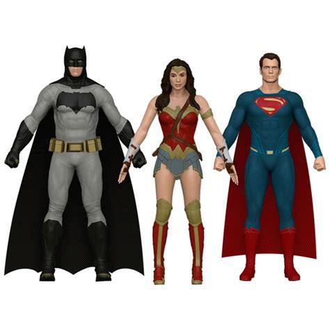 Figure Batman Vs Superman Superman Bendable Figure batman v superman of justice bendable figure set